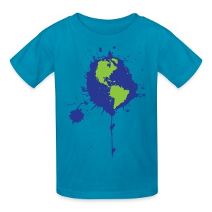 Earth Art Tee (Kids) - Kids' T-Shirt