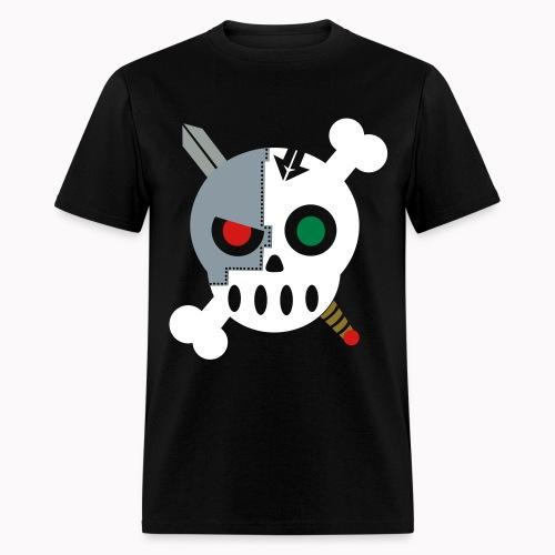 Cyborg Skull Special - Men's T-Shirt