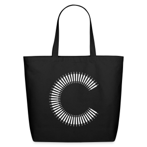 Eco-Friendly Cotton Tote (Black) - Eco-Friendly Cotton Tote