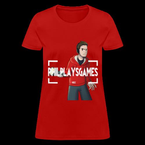 Phil Plays Women's T-Shirt - Women's T-Shirt