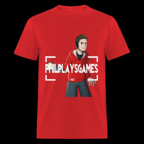 Phil Plays Men's T-Shirt - Men's T-Shirt