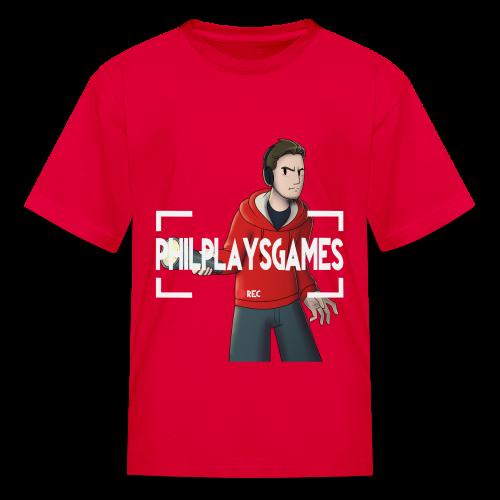 Phil Plays Kid's T-Shirt - Kids' T-Shirt