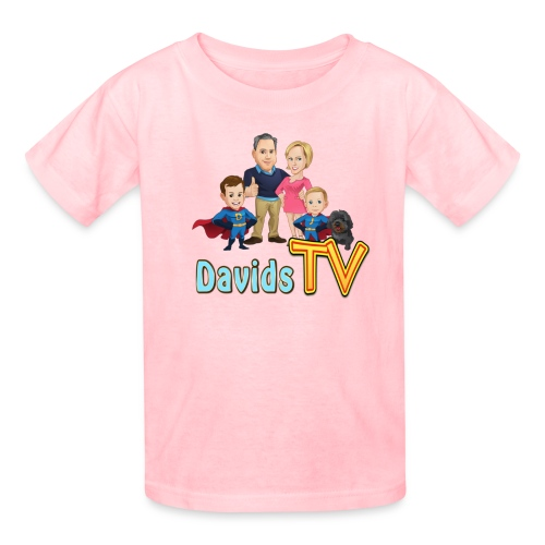 DavidsTV Girls T-Shirt - Kids' T-Shirt