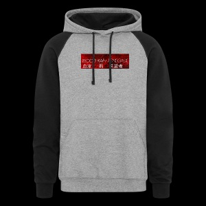 BLOOD RAIN RENEGADE COLOR BLOCK HOODIE  - Colorblock Hoodie