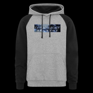 ICE RAIN RENEGADE COLOR BLOCK HOODIE  - Colorblock Hoodie
