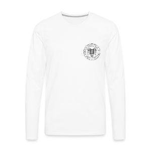 Men's Premium Long Sleeve T-Shirt (White) - Men's Premium Long Sleeve T-Shirt