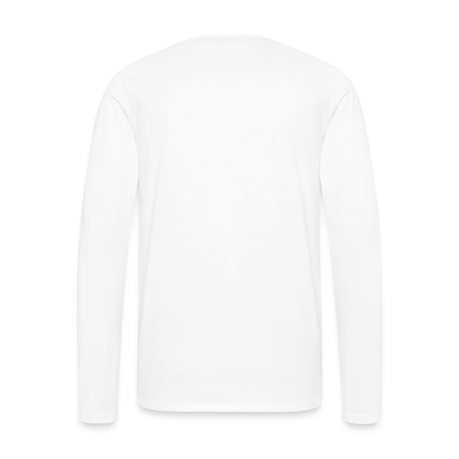 Men's Premium Long Sleeve T-Shirt (White)