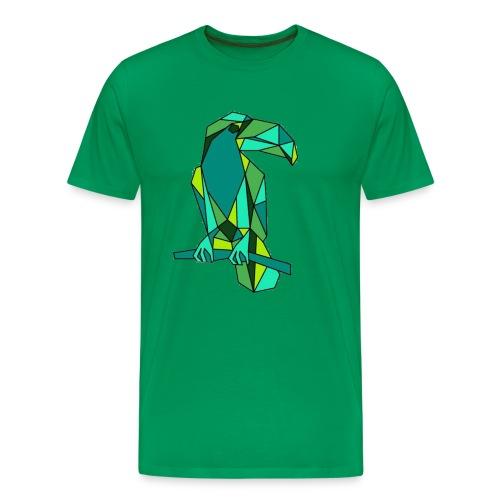 Men's Origami Toucan Shirt - Men's Premium T-Shirt