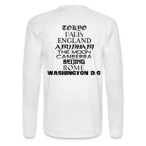 Places - Men's Long Sleeve T-Shirt