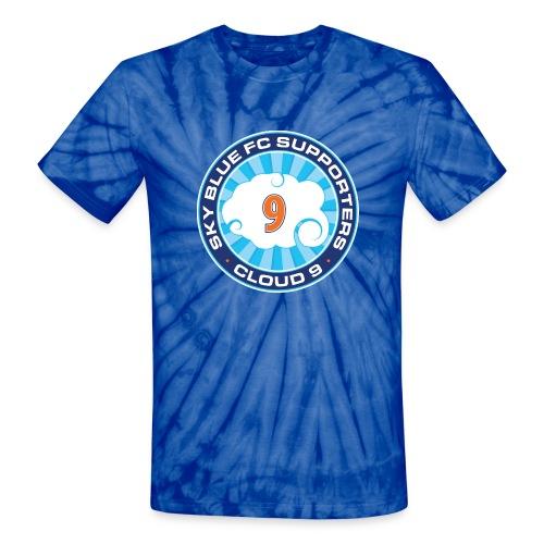 Cloud 9 Logo Tie Dye Tee - Unisex Tie Dye T-Shirt