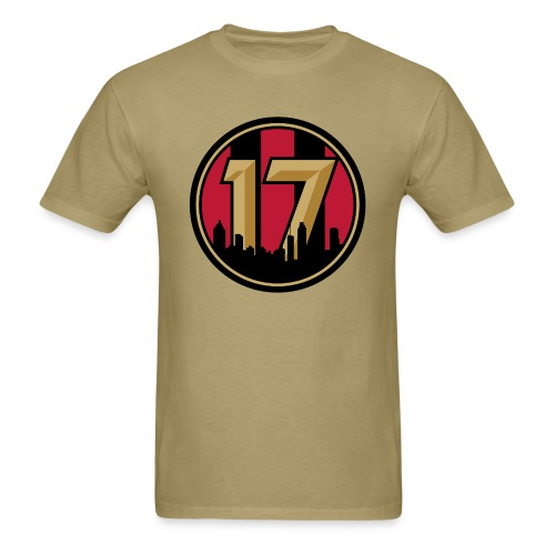 We Are 17 - Gold T-shirt - Men's T-Shirt