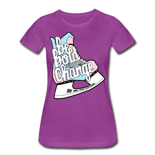 Be Bold For Change Trans Women's Cut Tee - Women's Premium T-Shirt