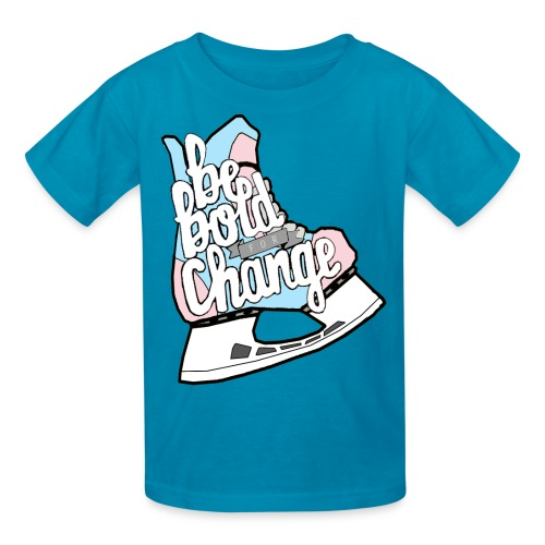 Be Bold For Change Trans Youth Tee - Kids' T-Shirt