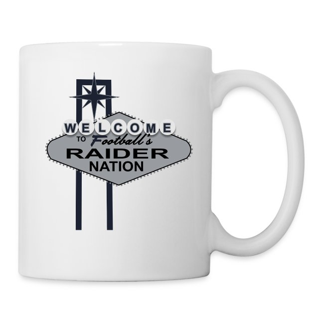 WelcomeRaiderNation mug
