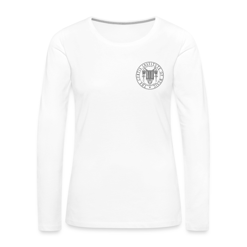 Women's Premium Long Sleeve T-Shirt (White) - Women's Premium Long Sleeve T-Shirt