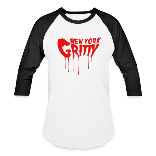 New York Gritty Men's Baseball Tee (Various Colors) - Baseball T-Shirt