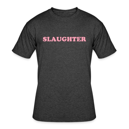 Pink Slaughter TEE. - Men's 50/50 T-Shirt