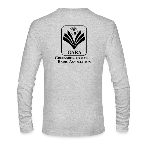 Long Sleeve Shirt with Callsign and Logo - Men's Long Sleeve T-Shirt by Next Level