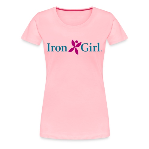 IRON GIRL 100% Cotton Premium Tee - Women's Premium T-Shirt