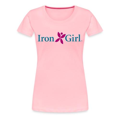 IRON GIRL 100% Cotton Premium Tee - Women's Premium T-Shirt