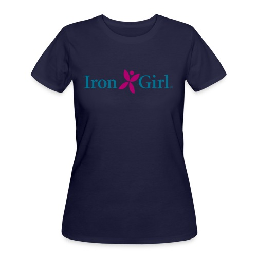 IRON GIRL 50/50 Cotton/Poly Tee - Women's 50/50 T-Shirt