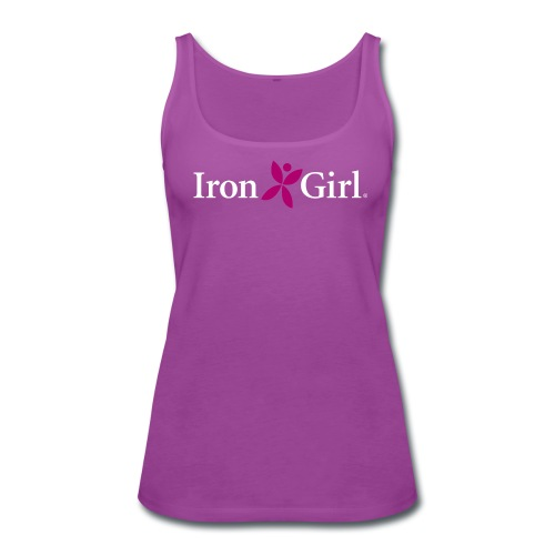 IRON GIRL Premium Tank Top - Women's Premium Tank Top