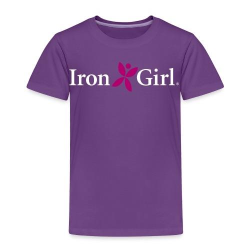 IRON GIRL Toddler Premium Tee 100% Cotton - Toddler Premium T-Shirt