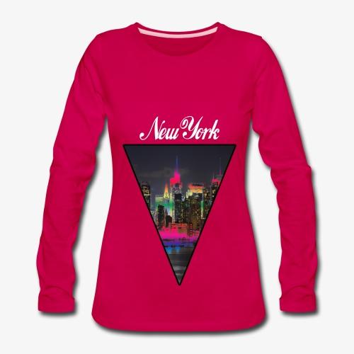 New York  - Women's Premium Long Sleeve T-Shirt