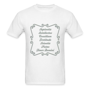 SEVEN GIFTS OF THE HOLY SPIRIT - Men's T-Shirt
