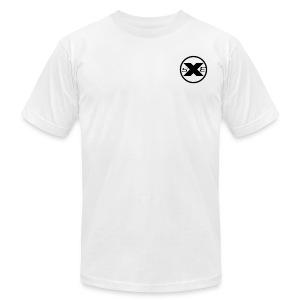 Xclusive Shots Entertainment T-Shirt  - Men's Fine Jersey T-Shirt