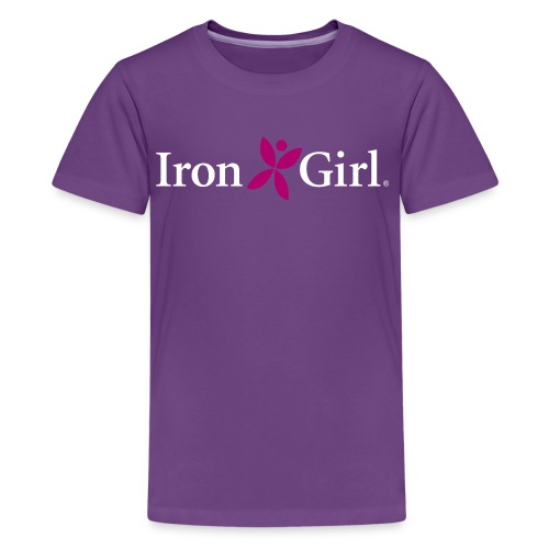 IRON GIRL Kid's Premium Tee 100% Cotton - Kids' Premium T-Shirt