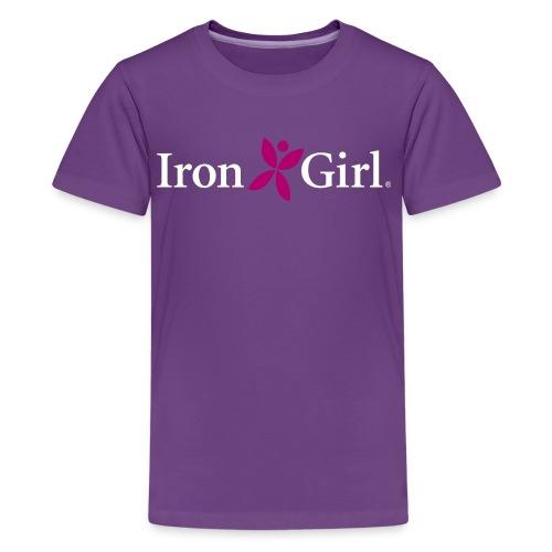 IRON GIRL Kid's Premium Tee 100% Cotton - Kids' Premium T-Shirt