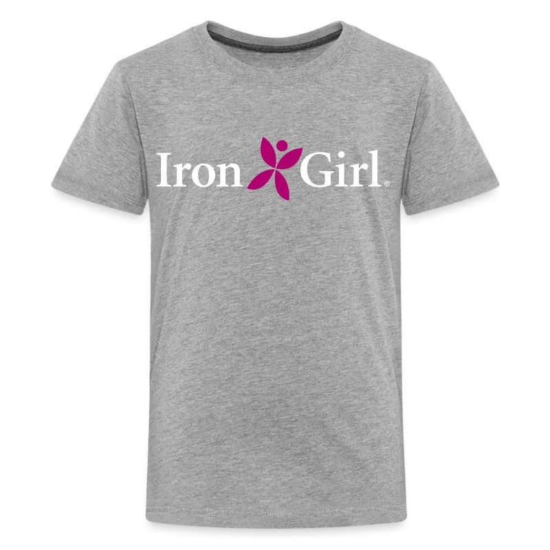 IRON GIRL Kids Premium Tee 100 Cotton T Shirt