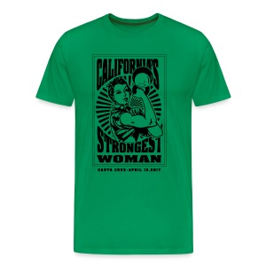 California's Strongest Woman MENs T - Men's Premium T-Shirt