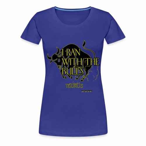 WOMEN L BLUE - Women's Premium T-Shirt