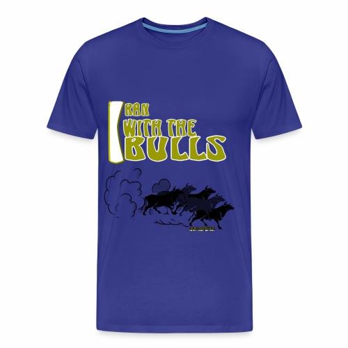 MEN L BLUE - Men's Premium T-Shirt