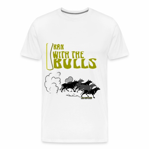 MEN L WHT - Men's Premium T-Shirt