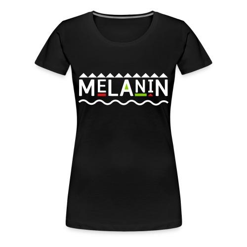 Melanin - Women's Premium T-Shirt