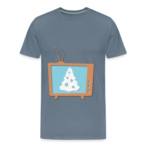 Christmas TV - Men's Premium T-Shirt