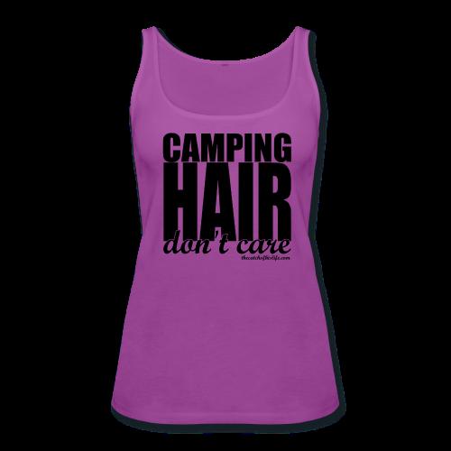 CampHairTank - Women's Premium Tank Top