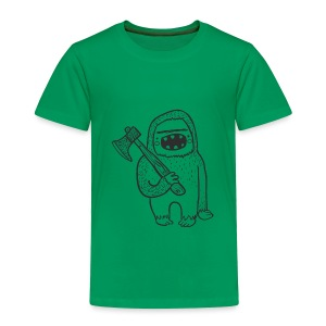 Smash Vintage Bigfoot Fun Children's T-Shirt - Toddler Premium T-Shirt
