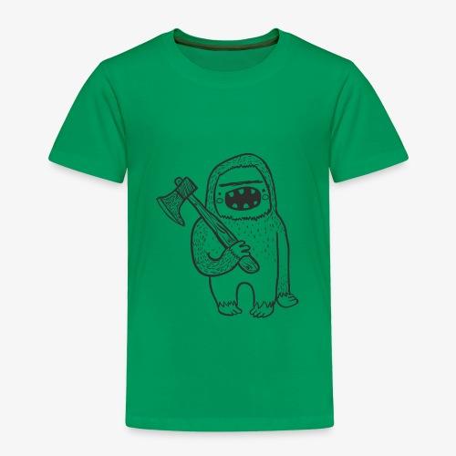 Smash Vintage Bigfoot Fun Children's T-Shirt - Toddler Premium T-Shirt