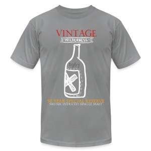 Smash Vintage 50 Year Old Single Malt T-Shirt - Men's T-Shirt by American Apparel