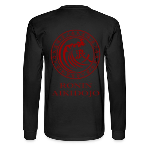 Red Ronin Logo Long Sleeve T-Shirt - Men's Long Sleeve T-Shirt
