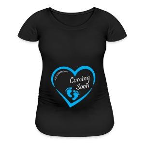 Coming Soon Sep 2017 - Women's Maternity T-Shirt