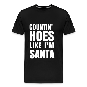 Countin' Hoes Tee  - Men's Premium T-Shirt