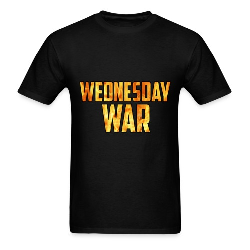 Wednesday War shirt [men] - Men's T-Shirt