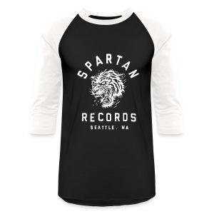 Spartan Wild Tiger Baseball T-Shirt - Baseball T-Shirt