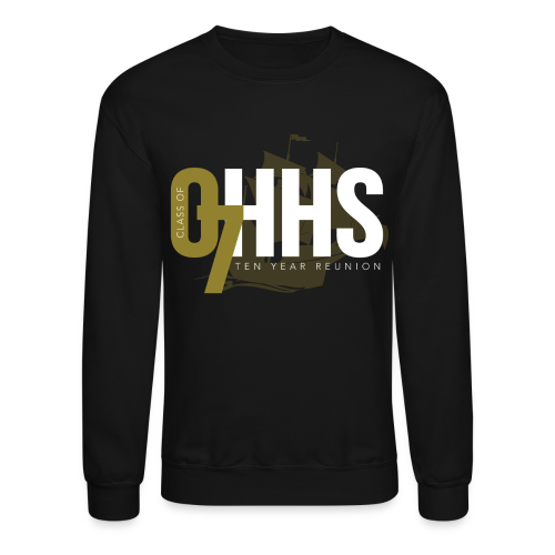 OHHS Clipper Black - Crewneck - Crewneck Sweatshirt