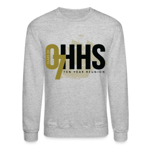 OHHS Clipper Gray - Crewneck - Crewneck Sweatshirt